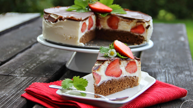 Tvarohový dort Míša sjahodami