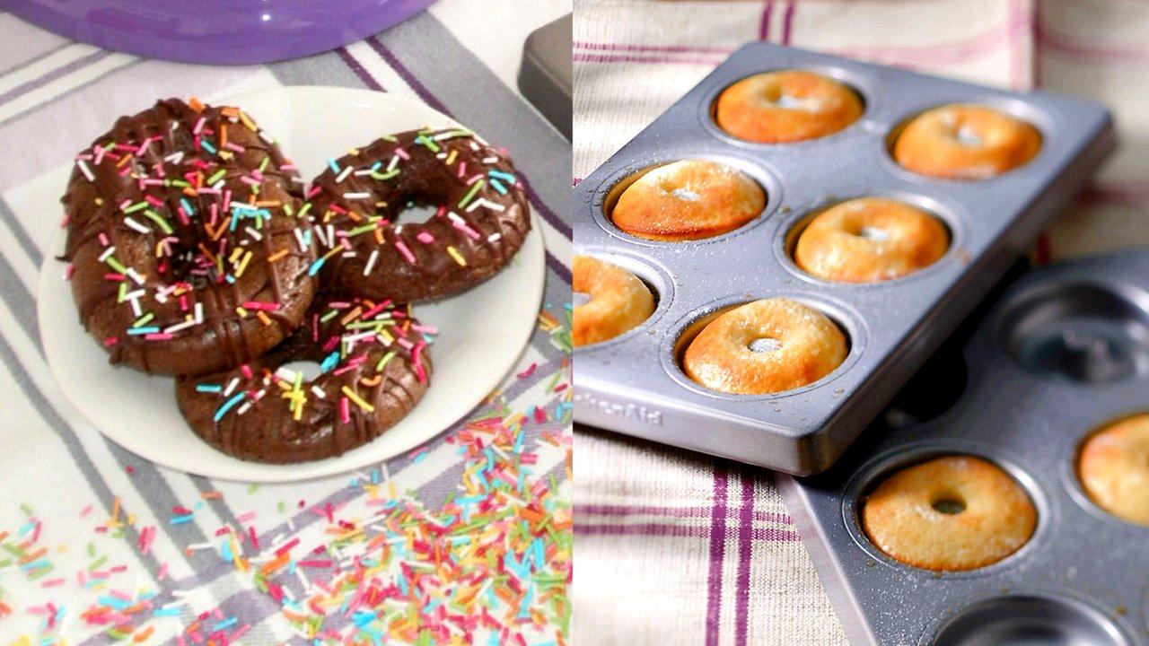 Bezlepkové donuty