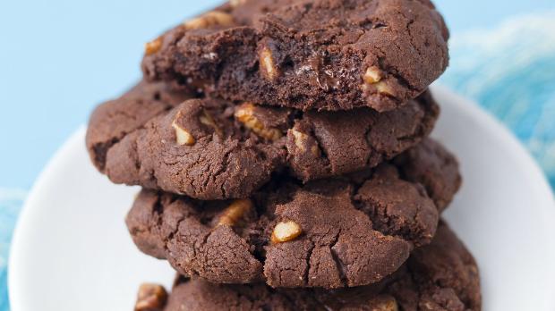 Sušenky s pekanovými ořechy
