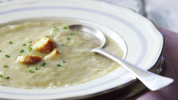 Česneková polévka