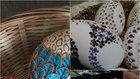 Zdobení madeirových kraslic vychází z výšivky, které se říká madeirová  Foto: