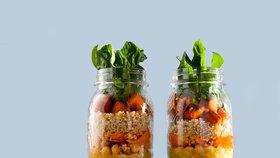 skleničkové saláty hlavní Foto:
