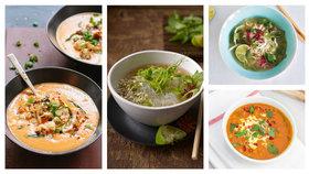 Asijské polévky Foto: