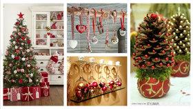 7 vánočních dekorací Foto: