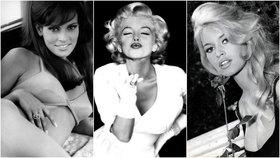 Poznáte tyto ženy, coby sex symboly dávné doby? Foto: