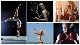 Sport těla krásně tvaruje, ten vrcholový je ale někdy spíš deformuje Foto: