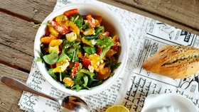 Salát z grilovaných paprik  Foto: