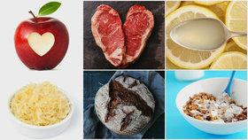 Kombinujte správně potraviny Foto: