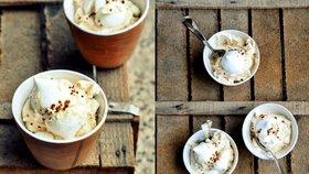 Sněhové pusinky s kávou Foto:
