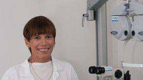 Doc. Skorkovská se oční chirurgii věnuje už 25 let Foto: