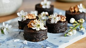 Raw brownies Foto:
