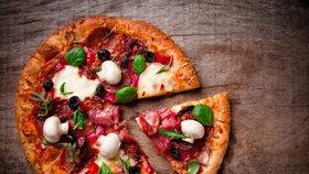 Zdravá pizza Foto: