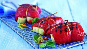 Grilované papriky se sýrem Foto: