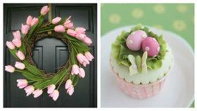 Velikonoční dekorace ženy Foto: