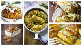 Podzimní hit: nadívané pečené brambory Foto: