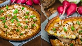 Květákový koláč s ořechy a citronovým krémem Foto: Good Mood Spoon