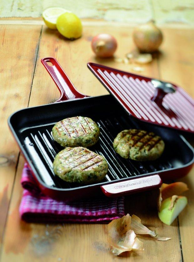 Krůtí karbanátky s koriandrem a restovanou zeleninou  Foto: