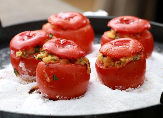 Plněná grilovaná rajčata 4 Foto: