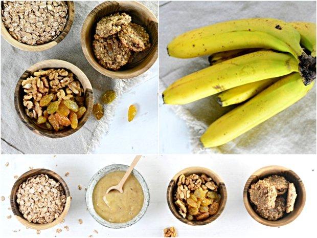 Ovesné sušenky s banánem  Foto:
