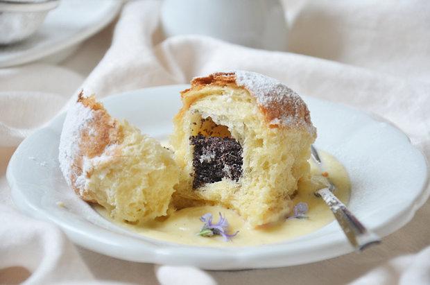 Makové buchty s vanilkovou omáčkou 4 Foto: