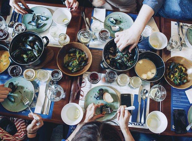 S Klárou v kuchyni: Společně u stolu  Foto: