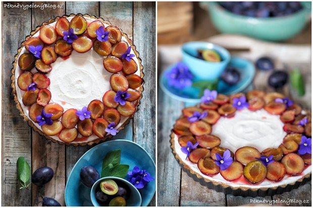 Nepečený tvarohový koláč Foto: