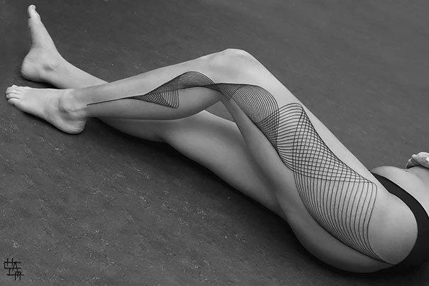 3D tetování - Krásné, jemné a ladné! Foto: