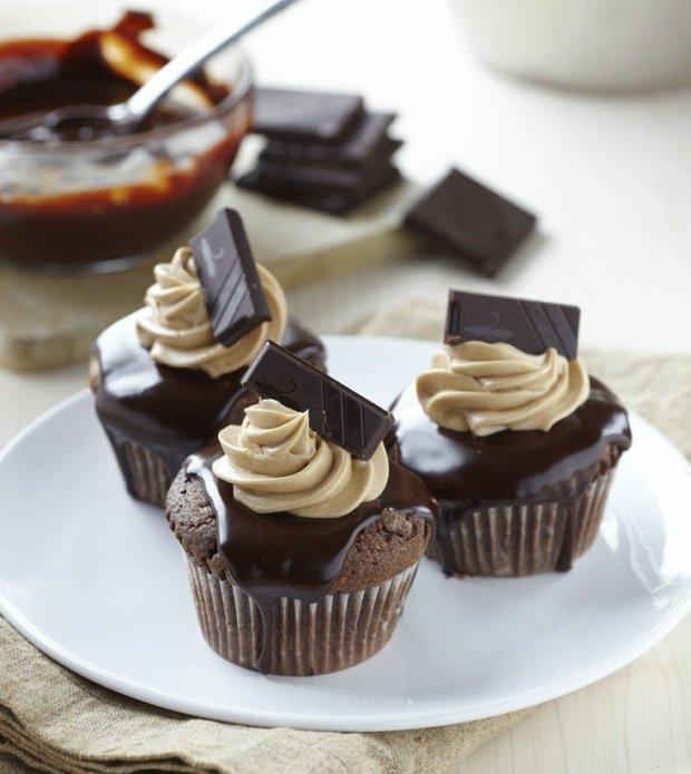 Čokoládové cupcakes  Foto: