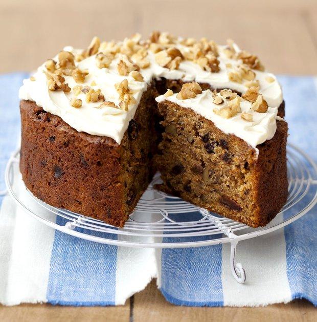 Mrkvový dort s tvarohovou čepicí  Foto:
