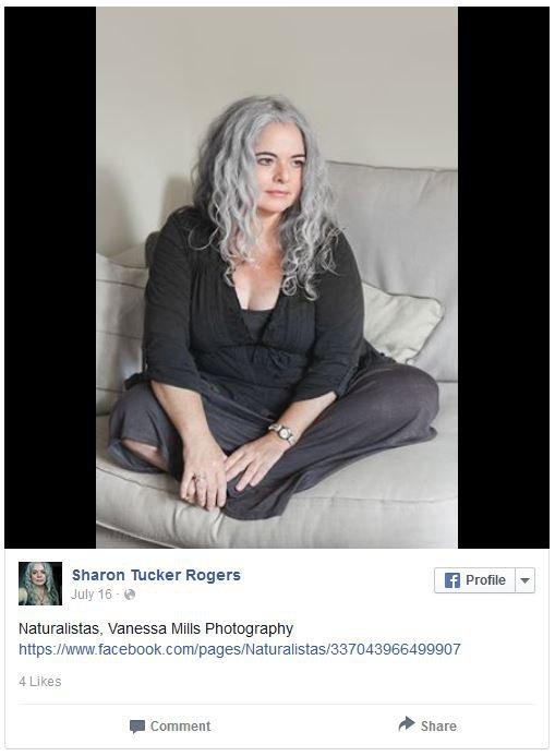 Sharon Rogers se rozhodla přiznat své šediny po vzoru Denise Foto: