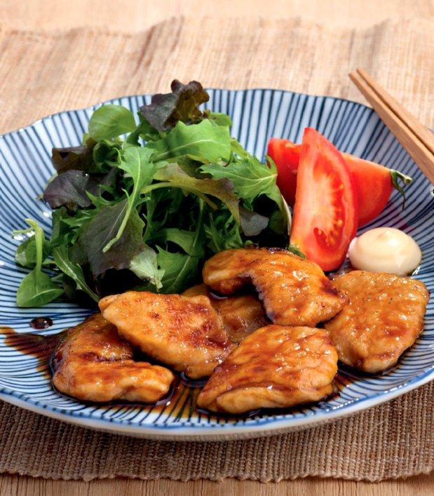 Kuwa Yaki - pikantní kuře  Foto: