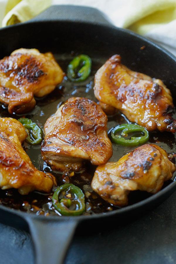 Vietnamské karamelové kuře 2 Foto: