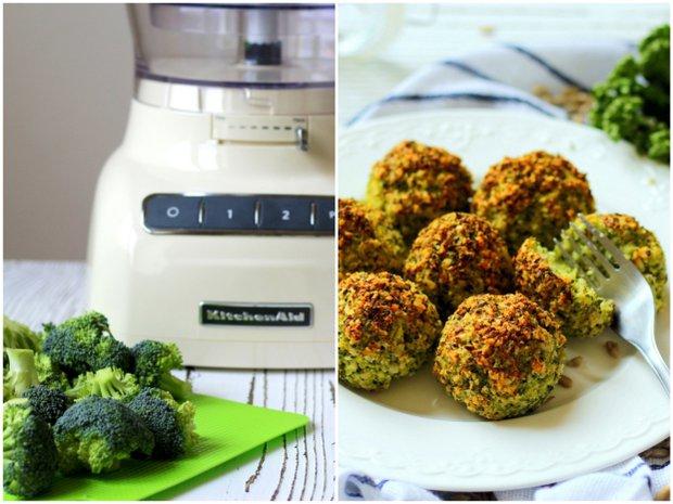 Brokolicovo-parmazánové kuličky  Foto: