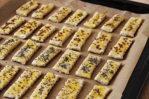 Slané cuketové tyčinky s česnekem 2 Foto: