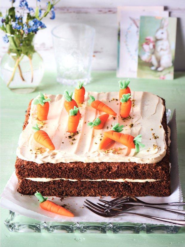 Jarní mrkvový dort Foto: