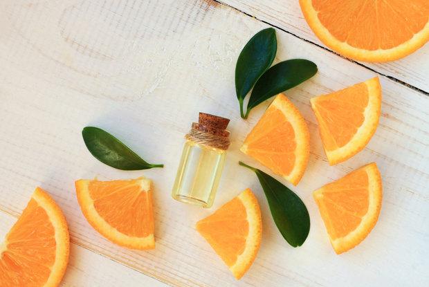 negativní energie - pomerančový olej Foto: