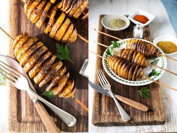 Pečené bramborové spirály 2 Foto: