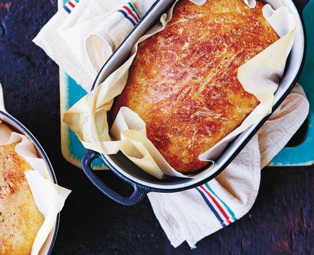 Perfektní nehnětený chléb krok za krokem  Foto: