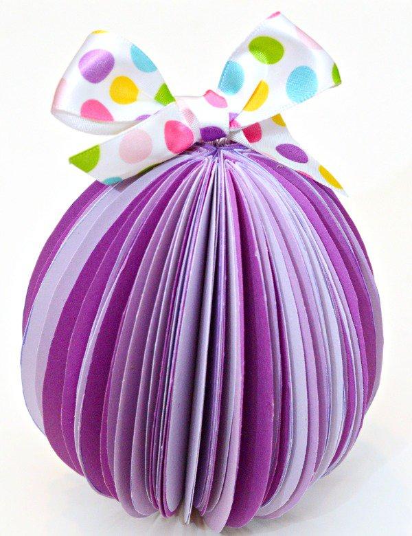 papírová vajíčka - pinterest Foto: