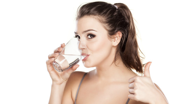 Nezapomínejte pít. Čistou vodu! Foto:
