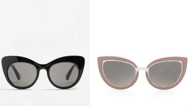 zleva: Mango, cena 499 Kč, Top Shop, info o ceně v obchodě Foto:
