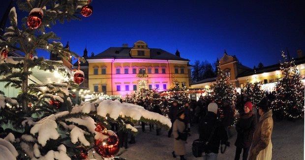 Trh v Hellbrunnu Foto: