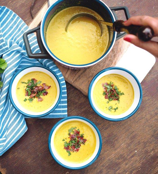 Kukuřičná krémová polévka  Foto: