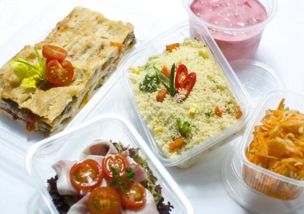 Krabičková dieta - jídlo na jeden den Foto: DIETAVKRABICCE.CZ