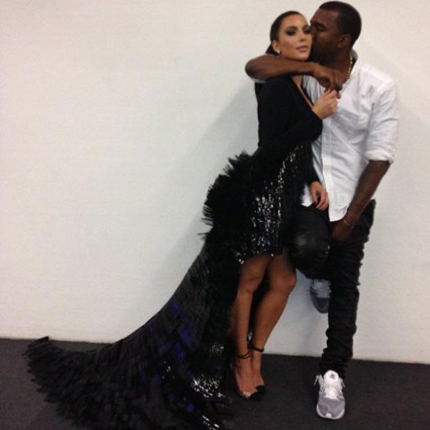 Kanye West a Kim Kardashian... stále zamilovaní Foto: Instagram.com