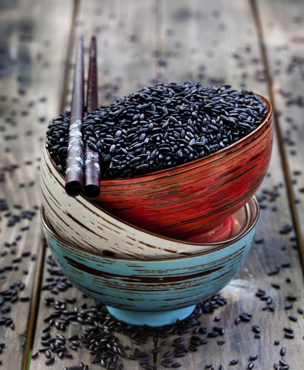Černé superpotraviny - černá rýže Foto: Thinkstock