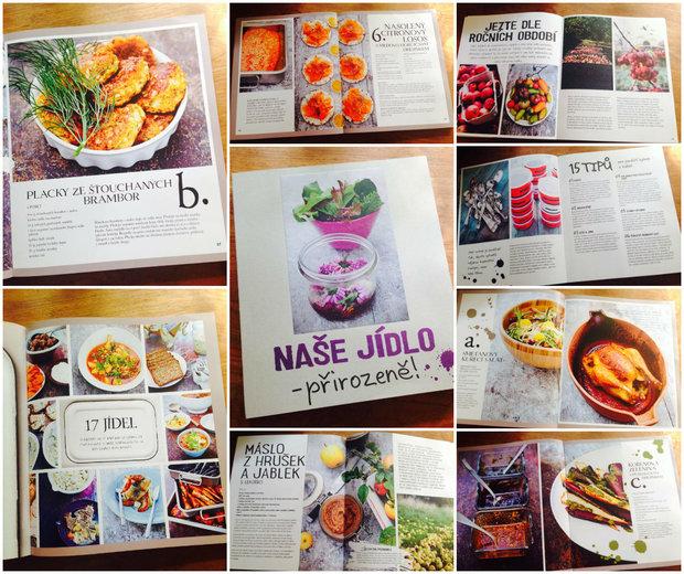 Nová kuchařka Naše jídlo - přirozeně! Foto: Klára Michalová