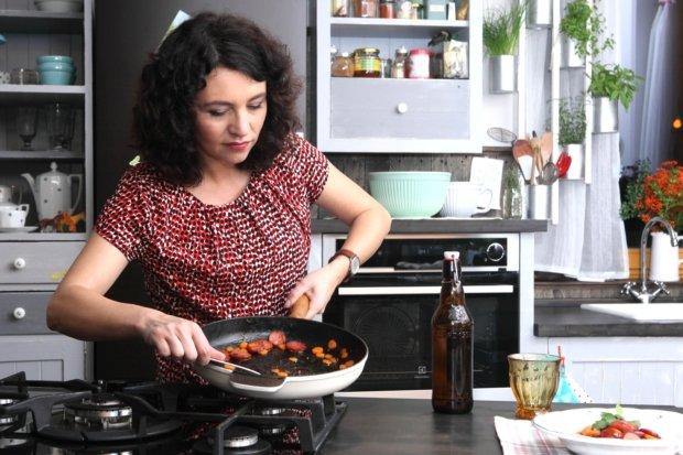 Glazovaná směs špekáčků s mrkví  Foto: