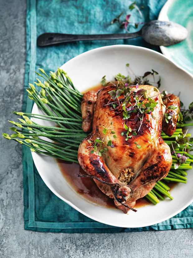 coconut-and-lime-roasted-chicken Foto: