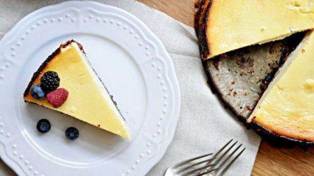 Hruškový cheesecake Foto: